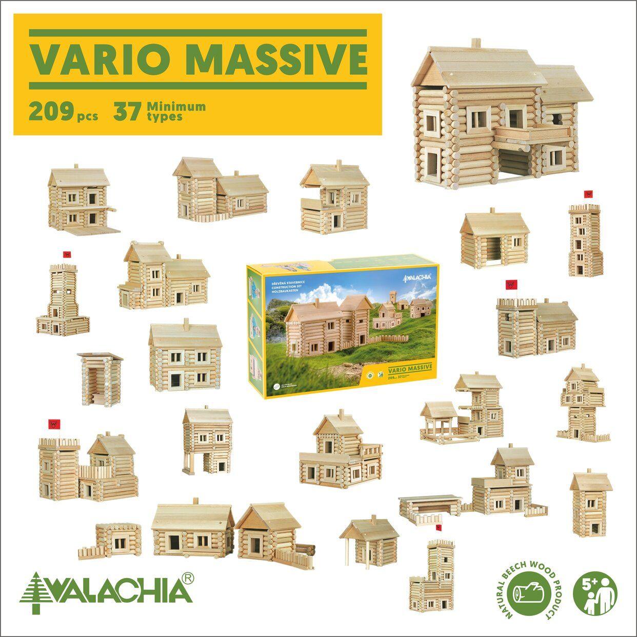 "Poza cu Constructor din lemn ""VARIO 209"""