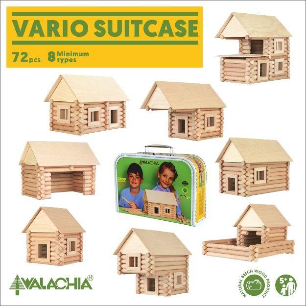 """Poza cu Constructor din lemn """"Valiză VARIO 72"""""""