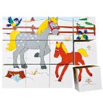 Poza cu Cuburi puzzle  4x5 (12 piese)