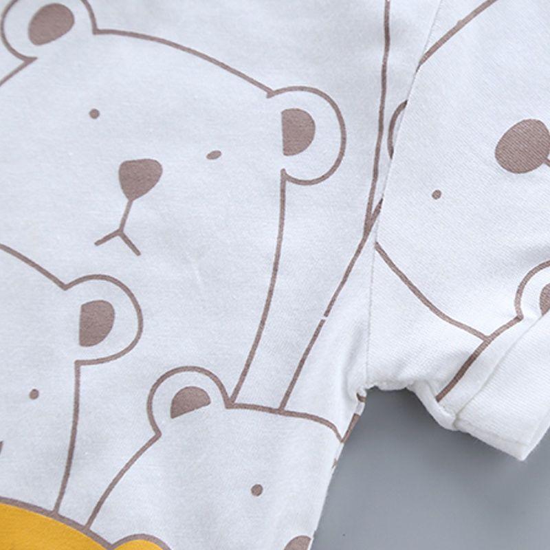 "Poza cu Set 2 piese -  Tricou + Pantaloni scurți ""Bear"""